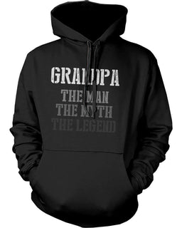 The Man Myth Legend Hoodies for Grandpa Christmas Gifts ideas for Grandfather