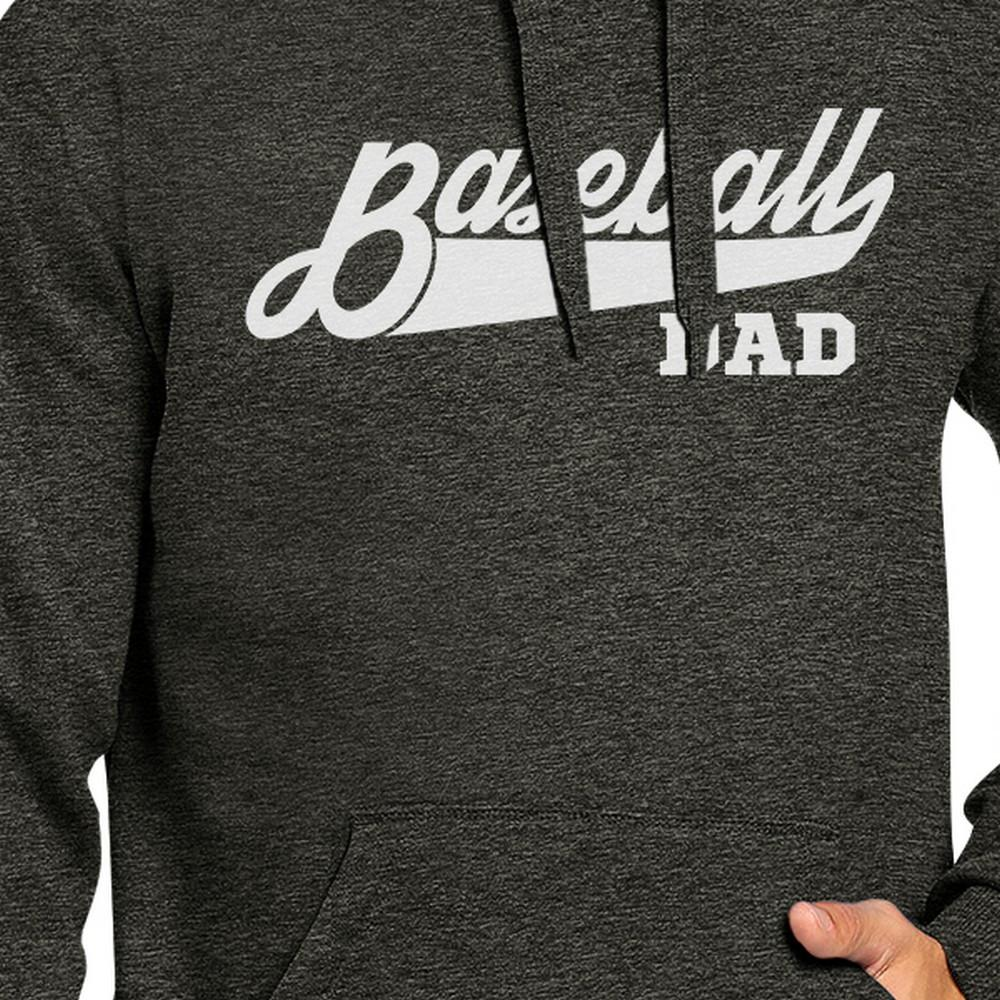 Baseball Dad Hoodie Perfect Dad Birthday Gift Ideas Pullover Fleece