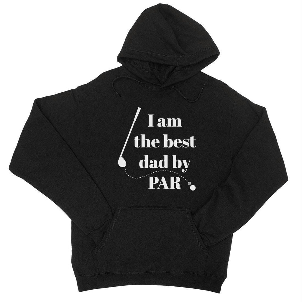 Best Dad By Par Golf Unisex Fleece Hoodie