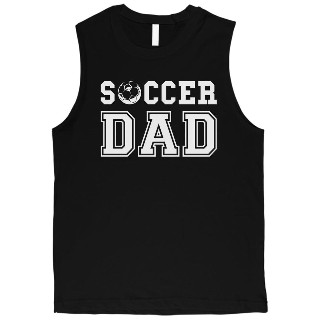 Soccer Dad Mens Protective Sweet Fun Cool Muscle Shirt Gift For Dad