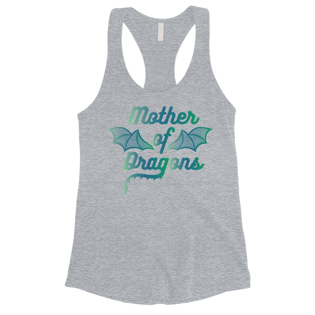 Mother Of Dragons Womens Cute Mother's Day Tank Top Best Mom Gifts