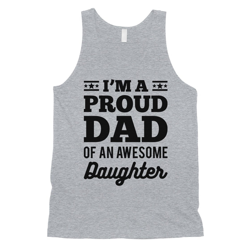 I'm A Proud Dad Mens Confident Hardworking Sleeveless Top Dad Gift