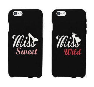 Miss Sweet And Wild Shoes Cute BFF Matching Phone Cases For Best Friends
