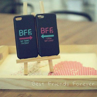 BFF Mint Pink Arrow Cute BFF Matching Phone Cases For Best Friends