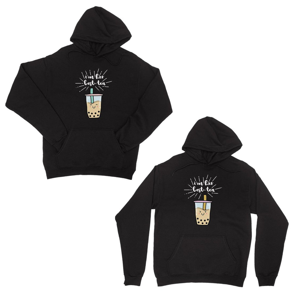 Boba Milk Best-Tea Funny BFF Matching Hoodies Cute Christmas Gift