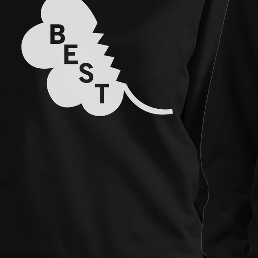 Best Friend Clover Cute BFF Matching Sweatshirt For St Patricks Day