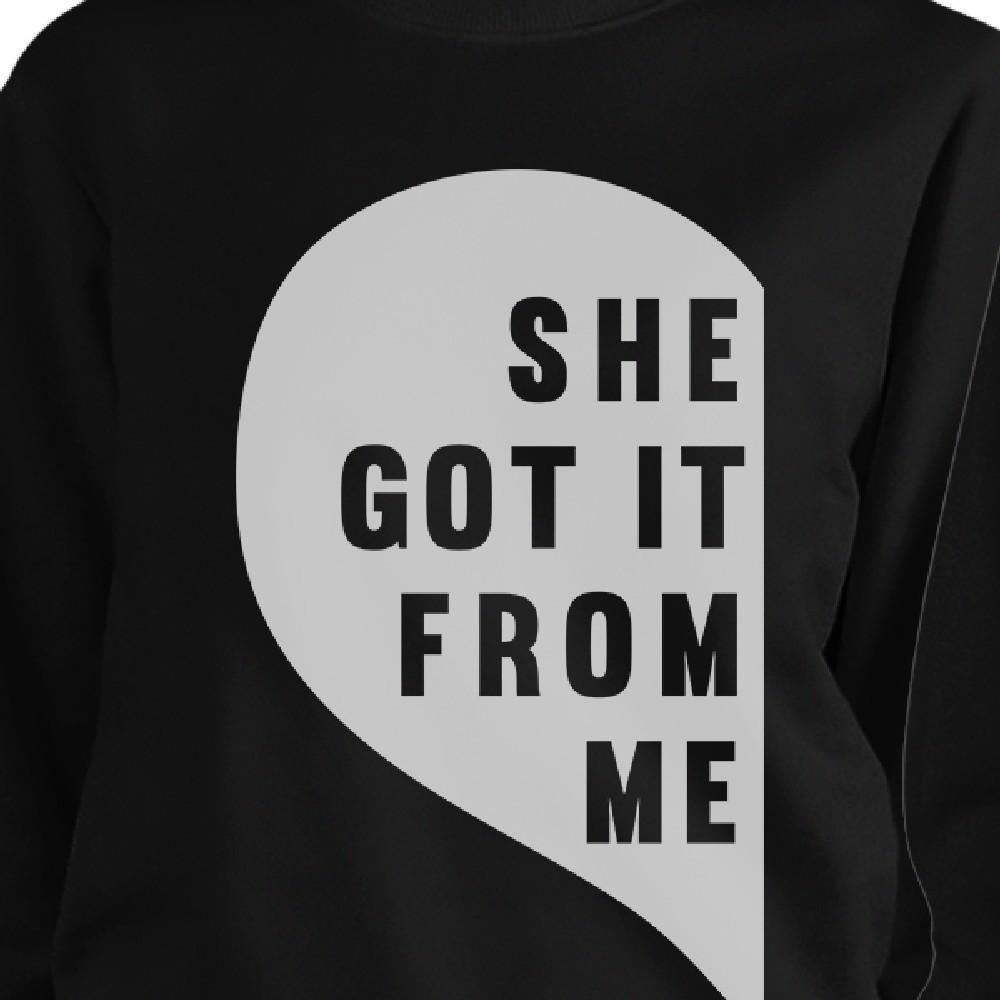 She Got It From Me Black Funny Mothers Day Gifts Unique Moms Gifts