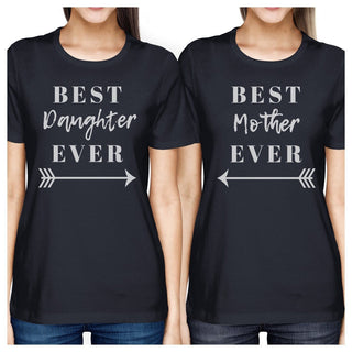 Best Daughter & Mother Ever Navy Matching T Shirt For Mothers Day
