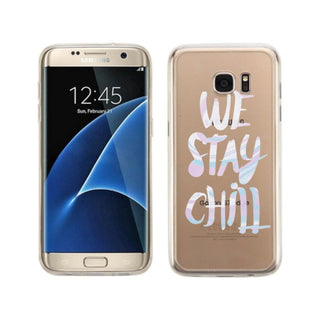 We Stay Chill Clear Phone Case