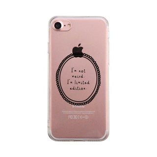 Limited Edition Phone Case Cute Clear Phonecase