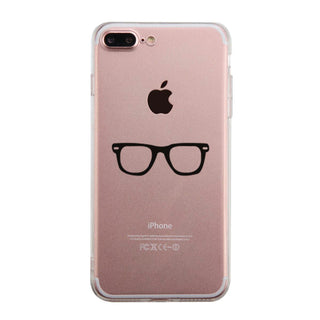 Nerdy Eyeglasses Phone Case Cute Clear Phonecase