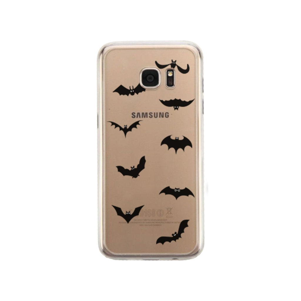 Bat Character Halloween Phone Case Cute Clear Phonecase