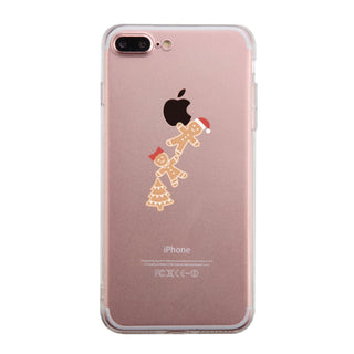 Ginger Cookies Hanging From Apple Cute Clear Phonecase