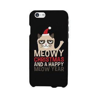 Meowy Christmas Cute Christmas Phone Case Great Gift Idea For X-mas
