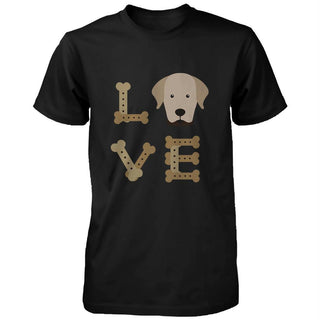 Golden Retriever LOVE Men's Shirt Cute Gifts Ideas for Retriever Dog Owner