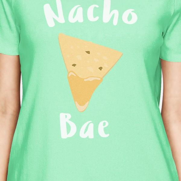 Nocho Bae Women's Mint T-shirt Cute Valentine's Gift Ideas For Her
