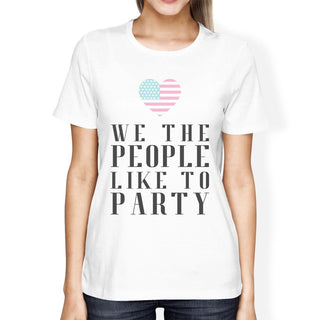 We The People Humorous US Constitution Unique Womens Graphic Tee