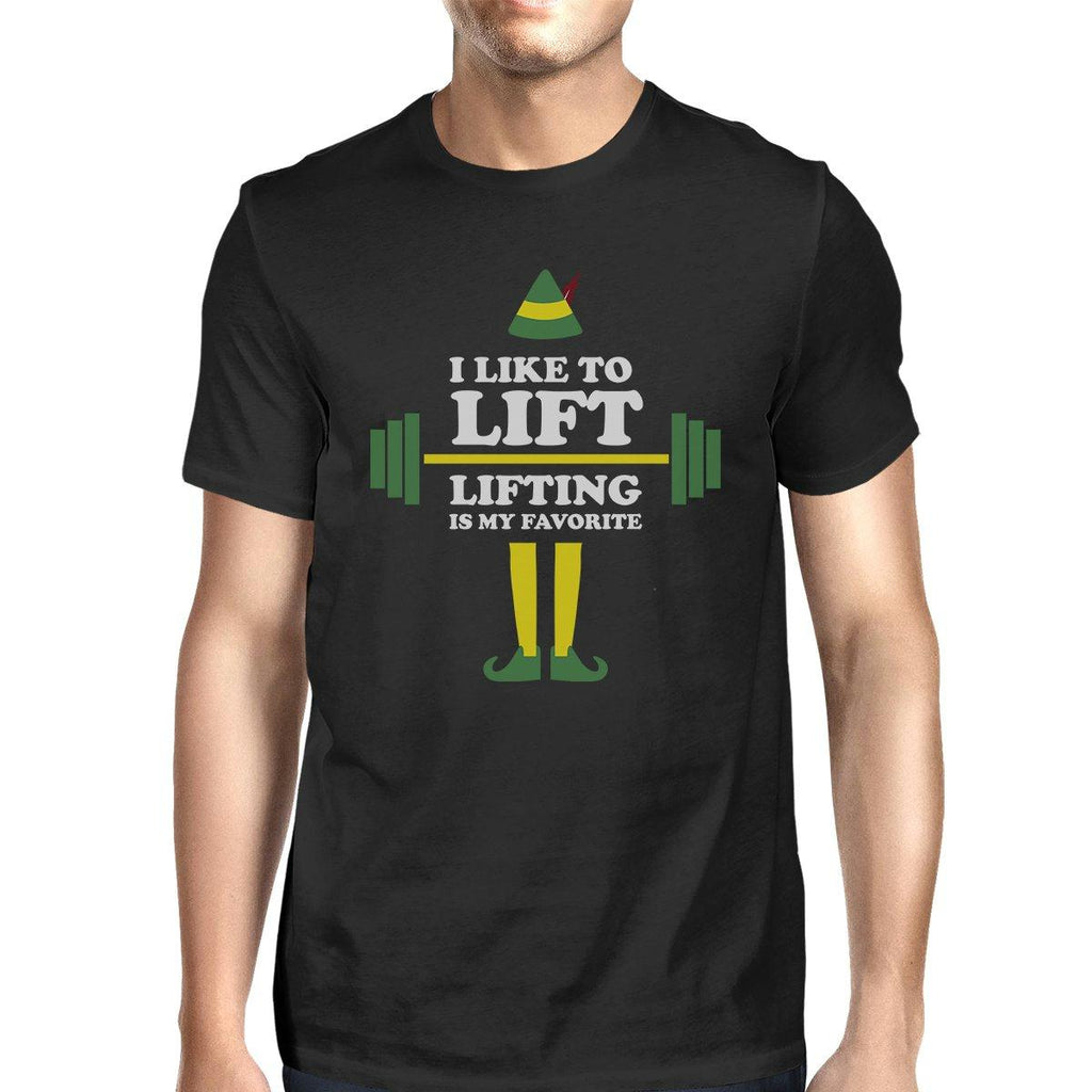 I Like To Lift Lifting Is My Favorite Mens Black Shirt