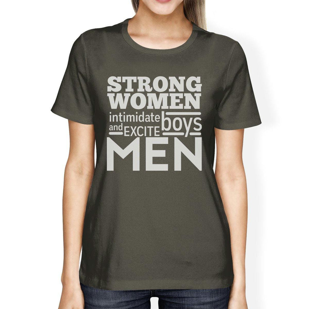 Strong Women Womens Cute Workout Shirts Gym Fitness Gift T-Shirt