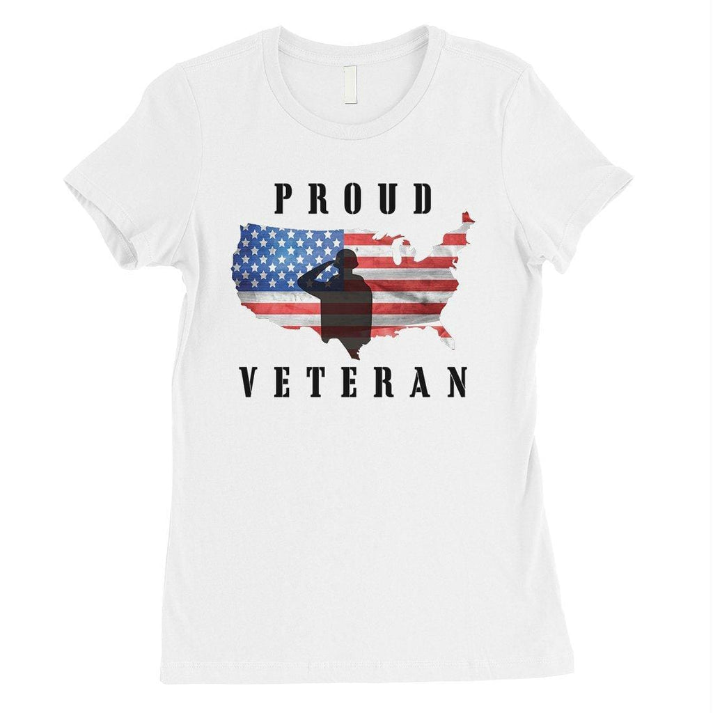 Proud Veteran Gift T-Shirt US Army Mom 4th of July Shirt Outfit