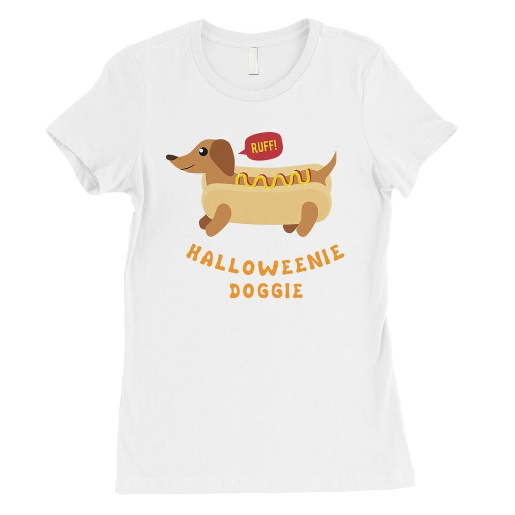 Halloweenie Doggie Womens T-Shirt