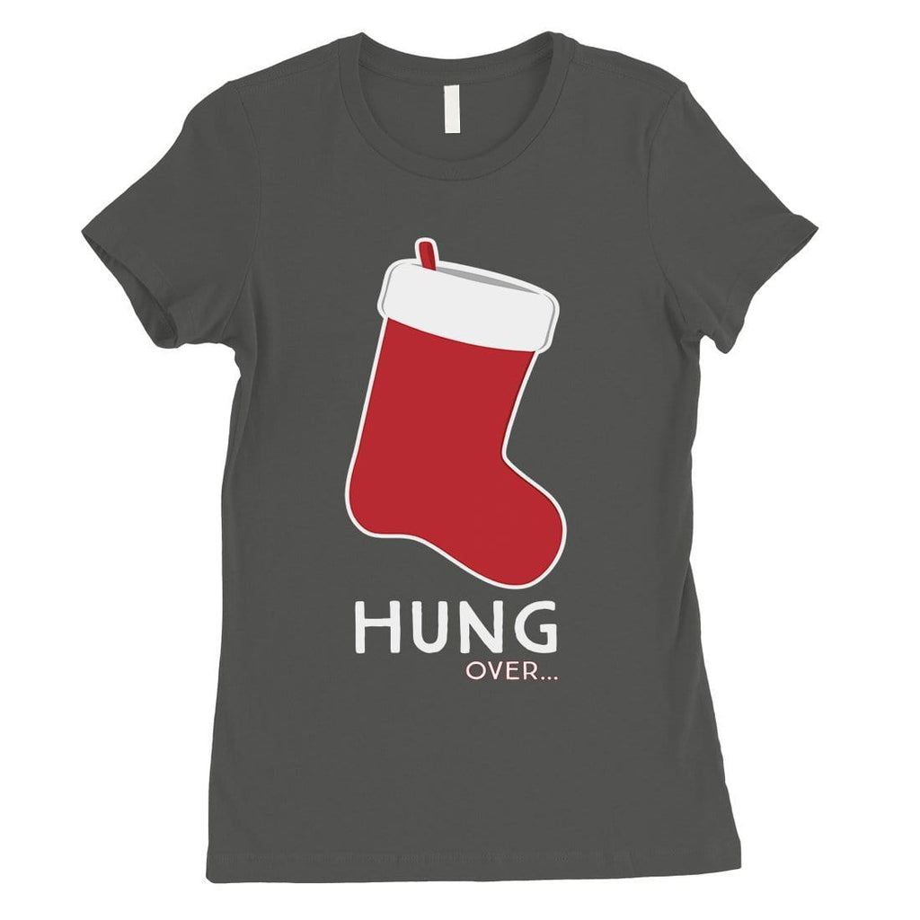 Hungover Christmas Stocking Womens T-Shirt