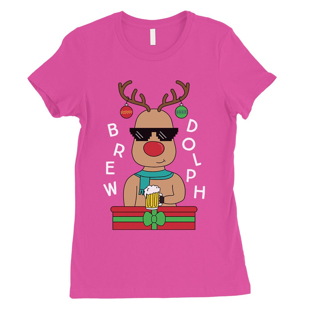 Brewdolph Womens T-Shirt