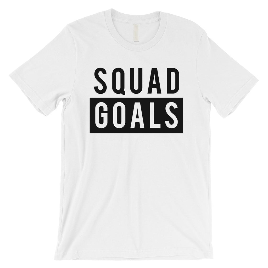 365 Printing Squad Goals Mens Happy Hilarious Group T-Shirt Gift For Friends