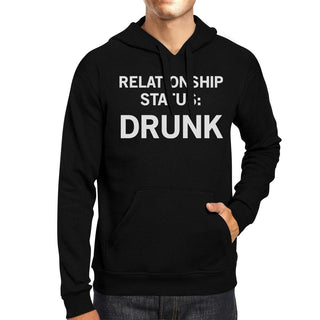 Relationship Status Unisex Crewneck Fleece Hoodie Humorous Graphic