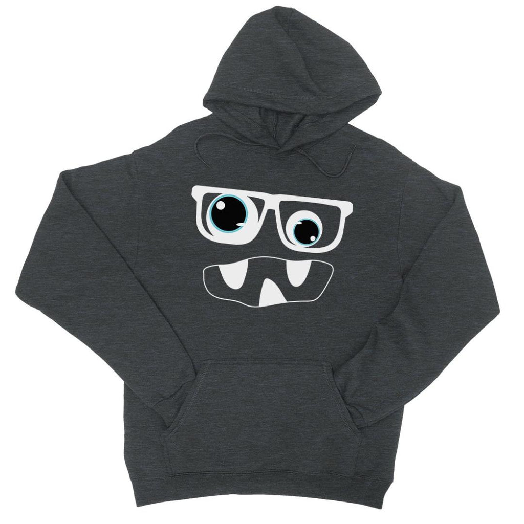 Monster With Glasses Unisex Pullover Hoodie