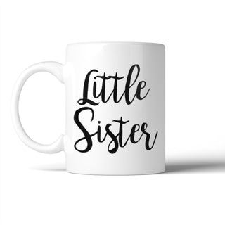 Little Sister Mug Cute Birthday Christmas Gift Idea For Sister