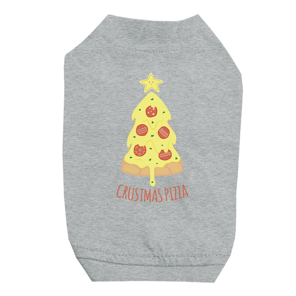 Crustmas Pizza Pet Shirt for Small Dogs