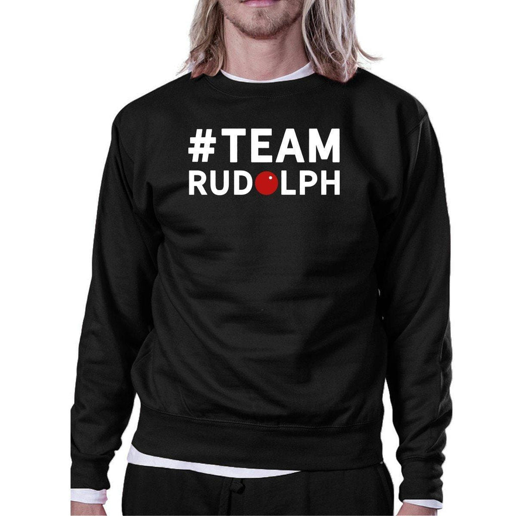#Team Rudolph Sweatshirt Family Or Group Matching Christmas Gift
