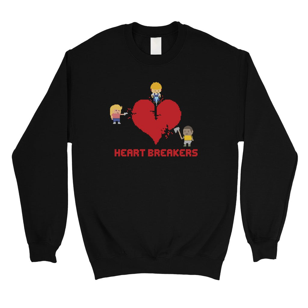Heart Breakers Unisex Crewneck Sweatshirt For Anniversary Gift