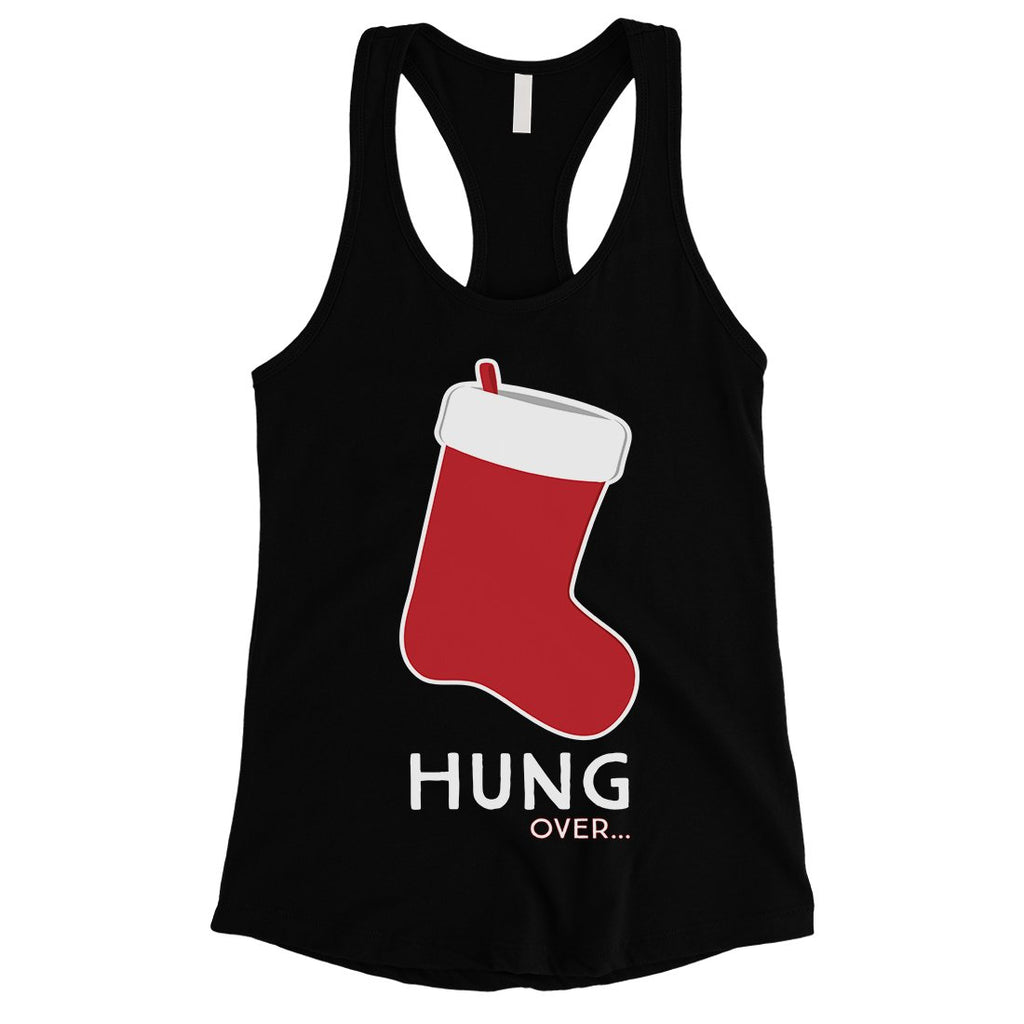 Hungover Christmas Stocking Womens Tank Top