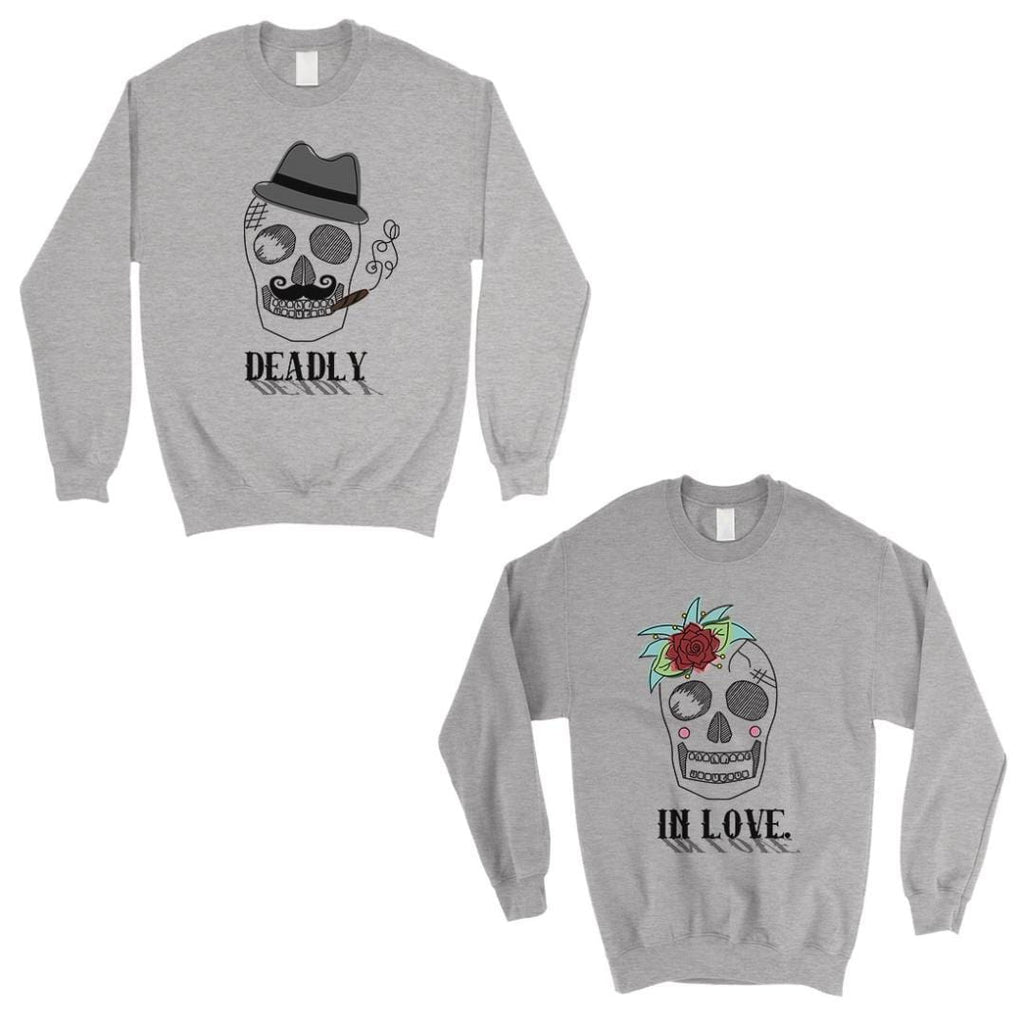 Deadly In Love Matching Sweatshirt Pullover
