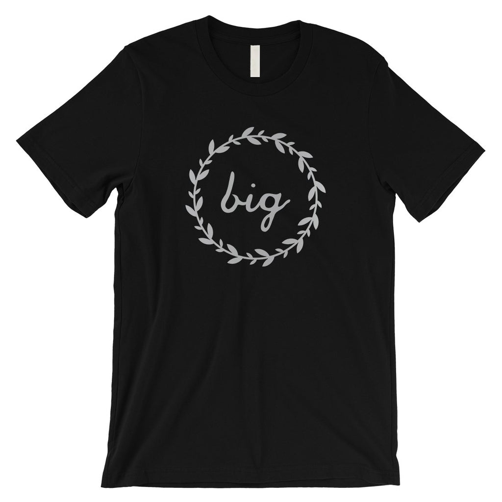 Big Little Leaf Wreath-SILVER Mens T-Shirt Pretty Trendy Design