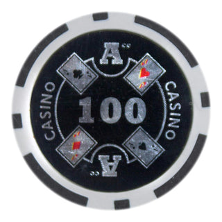 Roll of 25 - Ace Casino 14 gram - $100