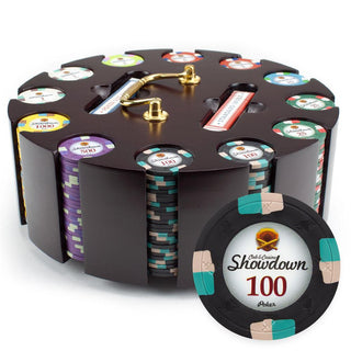 300ct Claysmith Gaming Showdown Chip Set in Carousel