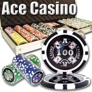 500 Ct - Pre-Packaged - Ace Casino 14 Gram - Aluminum