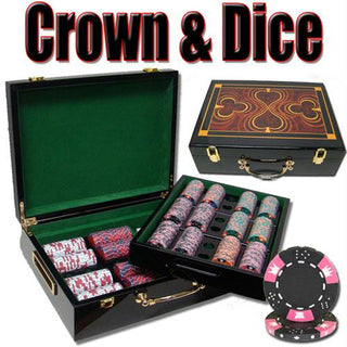 500 Ct - Pre-Packaged - Crown & Dice 14g - Hi Gloss