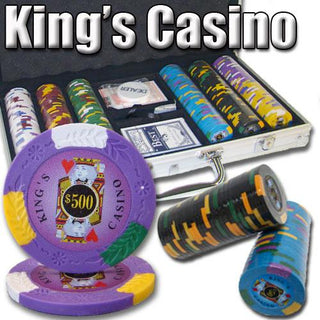 300 Ct - Pre-Packaged - Kings Casino 14 G - Aluminum