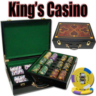 500 Ct - Pre-Packaged - Kings Casino 14 G - Hi Gloss