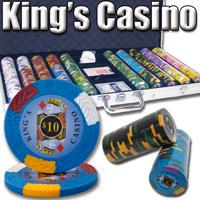 750 Ct - Pre-Packaged - Kings Casino 14 G - Aluminum