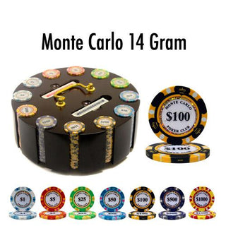 300 Ct - Pre-Packaged - Monte Carlo 14 G - Wooden Carousel