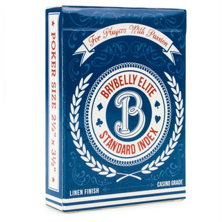 Blue Brybelly Elite Medusa Deck - Wide Size - Reg. Index