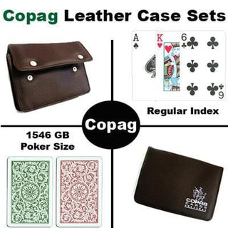 1546 GB Poker Regular Leather Case