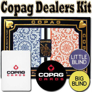 Copag Dealer Kit - 1546 Red-Blue Bridge Regular