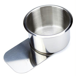 Jumbo Stainless Steel Slide Under Cup Holder