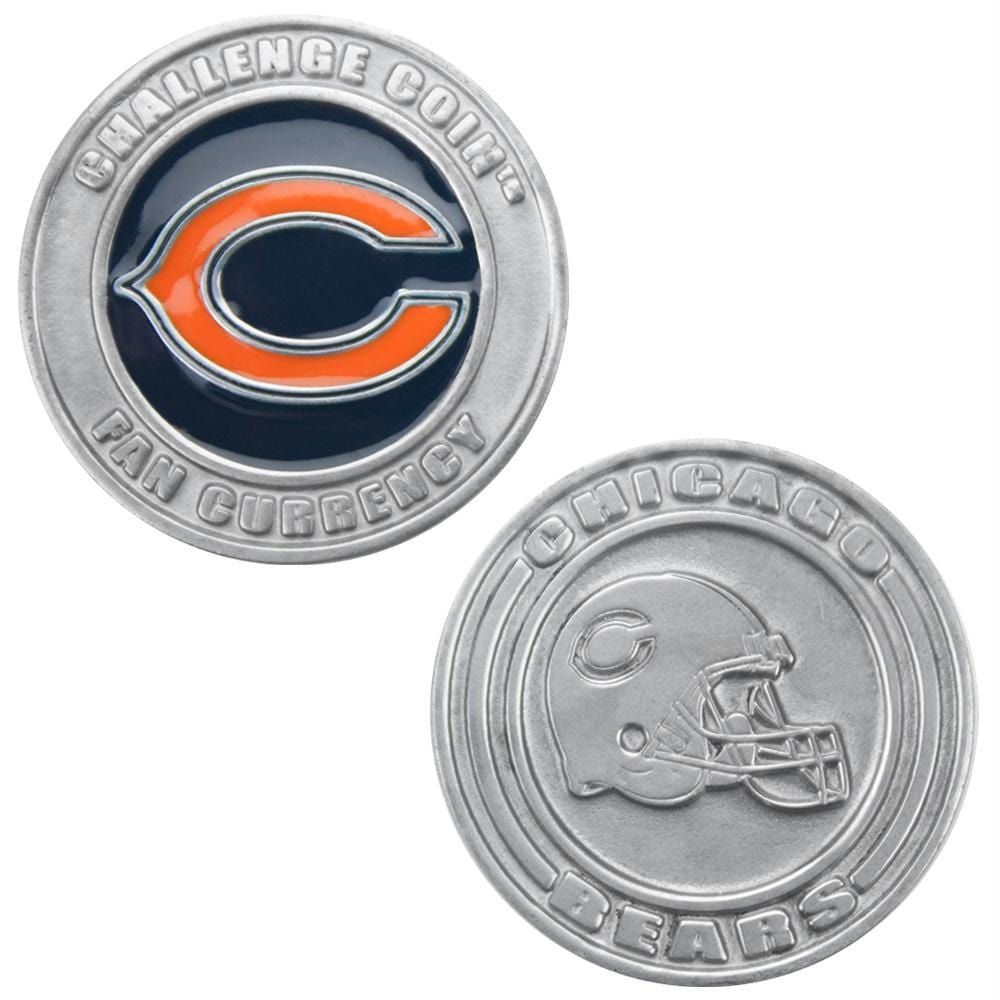 Challenge Coin Card Guard - Chicago Bears
